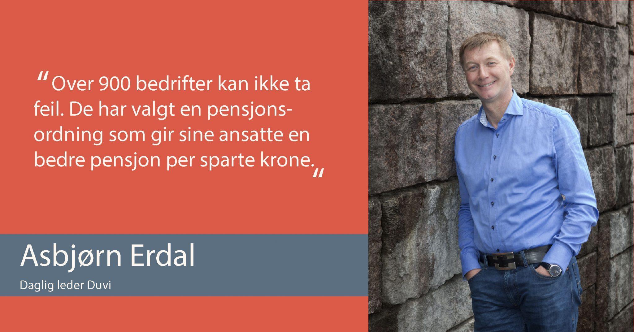Asbjørn Erdal - Duvi Pensjon